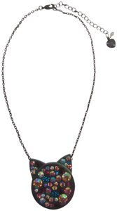 Betsey Johnson Betsey Johnson New Black Cat Necklace