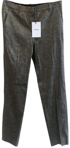 Theory Trouser Pants Brown