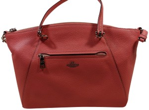 Coach Leather Helps Animals Charity Satchel in Pink