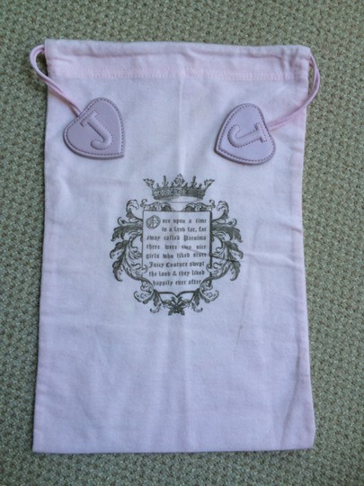 Juicy Couture Juicy Couture Pink Dust Bag