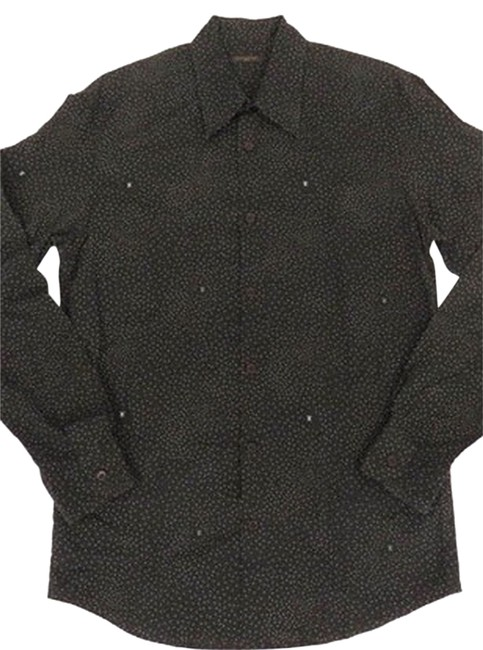 Louis Vuitton Button Down Shirt Brown