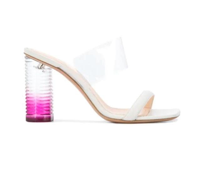 Item - Off White Peggy Glamour Sandals Size EU 40.5 (Approx. US 10.5) Regular (M, B)