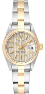 Rolex Rolex Datejust Steel Yellow Gold Tapestry Dial Ladies Watch 79163 Box
