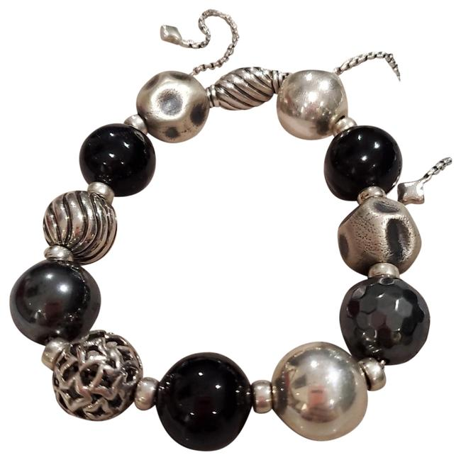 Black and Silver Dy Elements with Hematine Bracelet Black and Silver Dy Elements with Hematine Bracelet Image 1