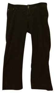Venezia by Lane Bryant Corduroy Boot Cut Pants Black