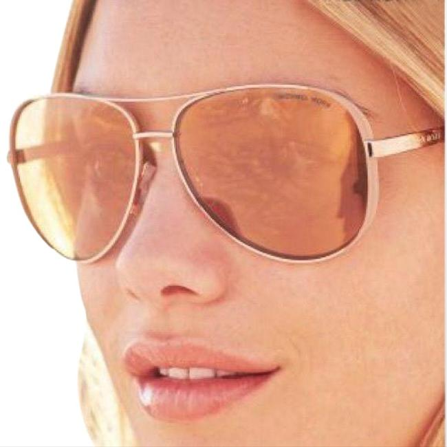 Item - Rose Gold Mk Chelsea Sunglasses