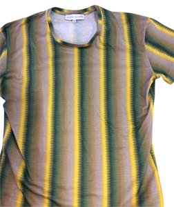 Jonathan Saunders T Shirt Yellows And Greens