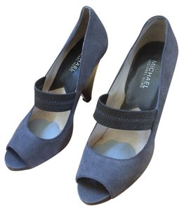 Michael Kors Suede Grey Pumps