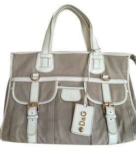 Dolce&Gabbana Tote in White And Beige