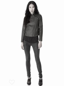 Helmut Lang Moto Designer Leather Jacket
