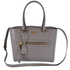 Prada Womenshopping Designer Tote in Gray