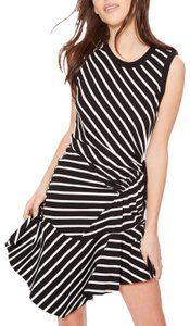 Parker short dress black/white on Tradesy