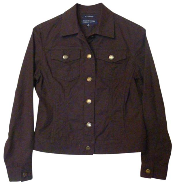 Item - Brown Jacket Size Petite 6 (S)