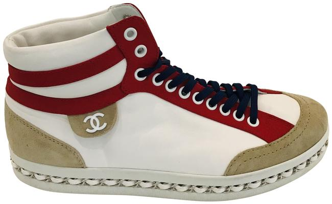 Item - White 2020 High Top with Chain Sneakers Size EU 38.5 (Approx. US 8.5) Regular (M, B)