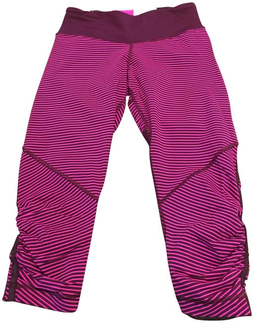 Item - Pink and Burgundy Activewear Bottoms Size 4 (S, 27)