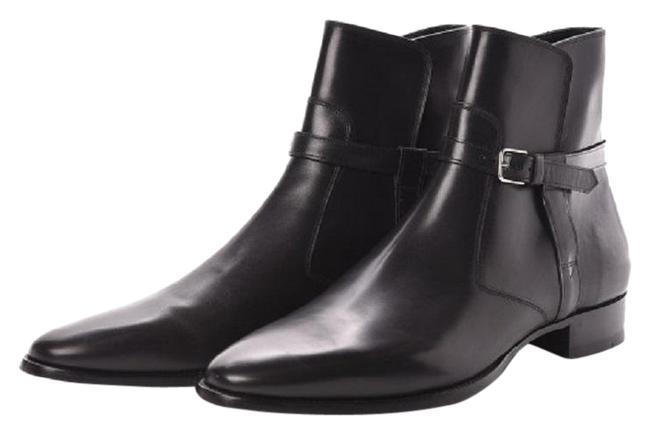 Saint Laurent Black Ankle Classica Calfskin Mens Ankle 43/ 10 Boots/Booties Size EU 43 (Approx. US 13) Regular (M, B) Saint Laurent Black Ankle Classica Calfskin Mens Ankle 43/ 10 Boots/Booties Size EU 43 (Approx. US 13) Regular (M, B) Image 1