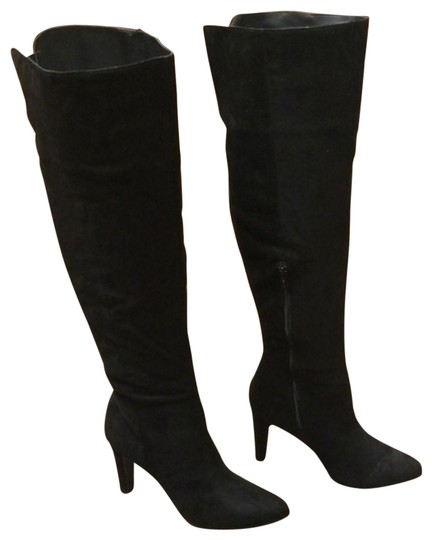 Material Girl Black Candice Dress Boots