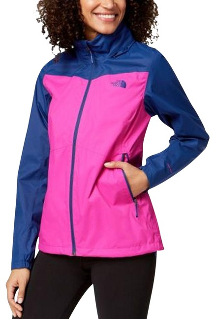 The North Face Violet Pink Resolve Windproof Maternity Outerwear Size 16 (XL, Plus 0x) The North Face Violet Pink Resolve Windproof Maternity Outerwear Size 16 (XL, Plus 0x) Image 1