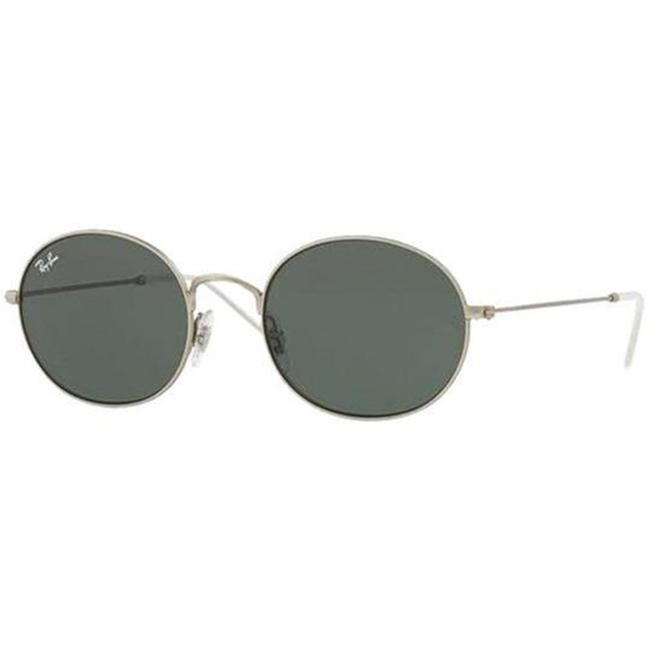 Item - Silver Frame & Green Lens Rb3594 911671 53 Unisex Round Sunglasses