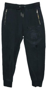 kenzo Kenzo Embroidered Distressed Jogger Pants