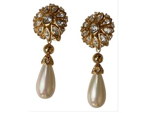 Dior Christian Dior Statement Earring