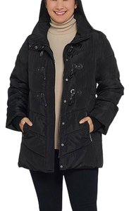 Dennis Basso Dennis Basso Water Resistant Quilted Toggle Jacket with Hood