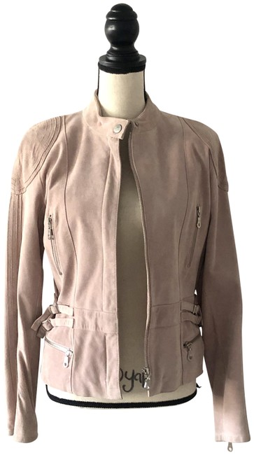 Item - Pink Light Suede Short 42 Us Jacket Size 10 (M)