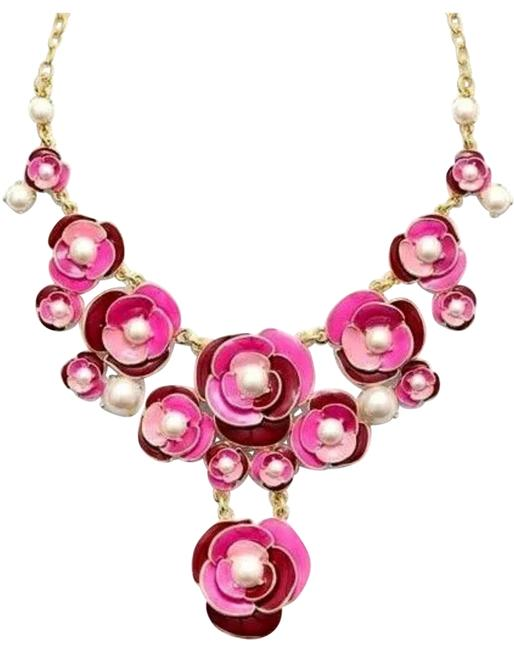 Kate Spade Pink New with Tags Deco Blossom Necklace Kate Spade Pink New with Tags Deco Blossom Necklace Image 1