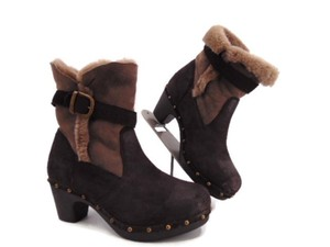 Emu Australia Shearling Sheepskin Multi-Color Boots