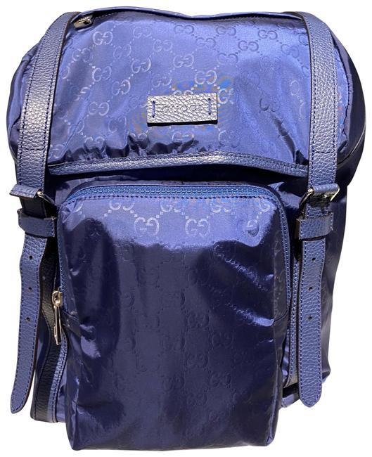 Item - Nylon Blue Backpack
