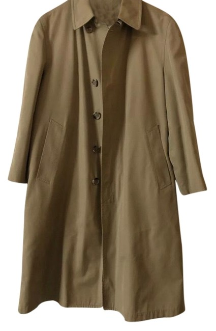 Item - Beige Brown Thinsulate Thermal Removable Insulation Coat Size 10 (M)