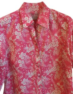 Columbia Sportswear Company Top pink snap front