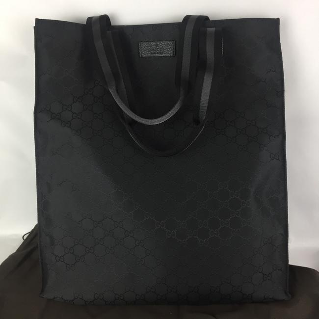Gucci Nylon Black Tote Gucci Nylon Black Tote Image 1