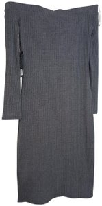 Dailylook short dress Gray on Tradesy