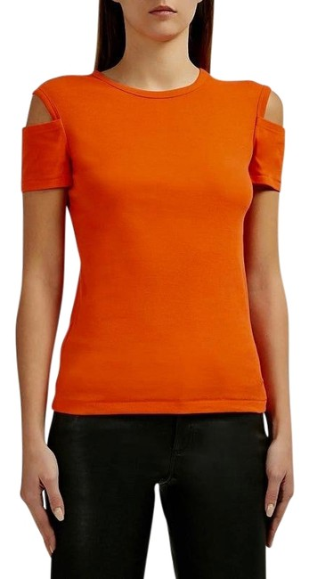 Item - Magma Orange XS Detached Cuff Tee Shirt Size 2 (XS)