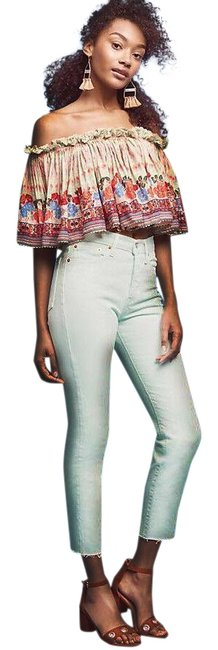 Item - Green Anthropologie Womens Wedgie Icon High Rise Relaxed Straight Leg Jeans Size 25 (2, XS)