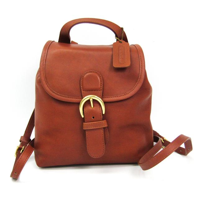 Item - 4152 Women's Brown Leather Backpack