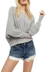 Free People Denim Shorts-Distressed