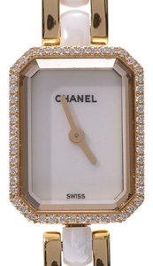Chanel Chanel Premiere White Dial H2435 Ladies Diamond Bezel YG Ceramic Quartz Watch CHANEL Repair Details
