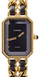 Chanel Chanel Quartz Gold Plated Women's Watch Premiere Size M H0001
