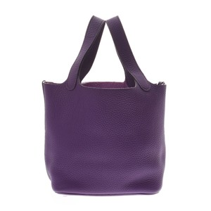 Hermes Satchel in Ultra violet