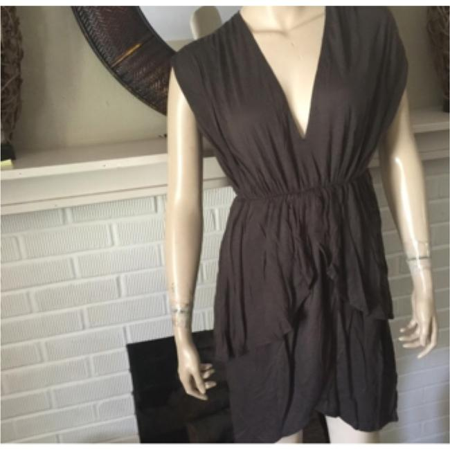 Alice + Olivia short dress brown on Tradesy