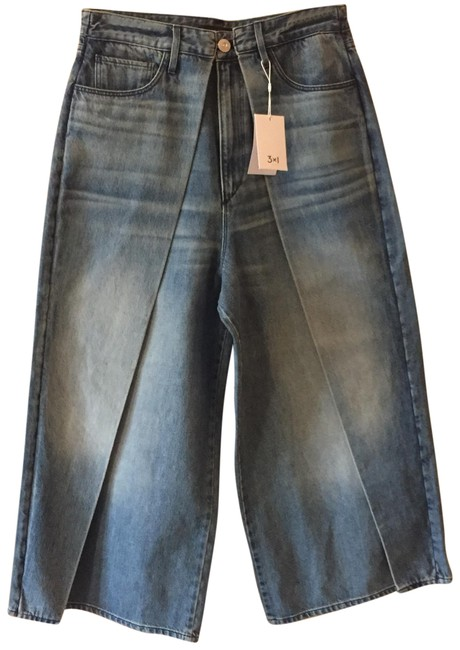 Item - Medium Blue Wash Porter Wideleg Don Relaxed Fit Jeans Size 8 (M, 29, 30)
