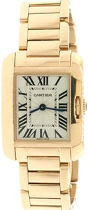 Cartier Cartier Tank Anglaise Small 23mm Rose Gold Ladies Watch 3487 W5310013
