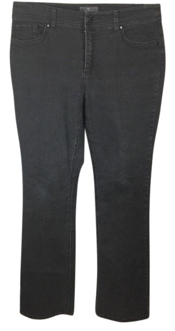 Item - Black So Slimming High Waist Straight Leg Jeans Size 6 (S, 28)