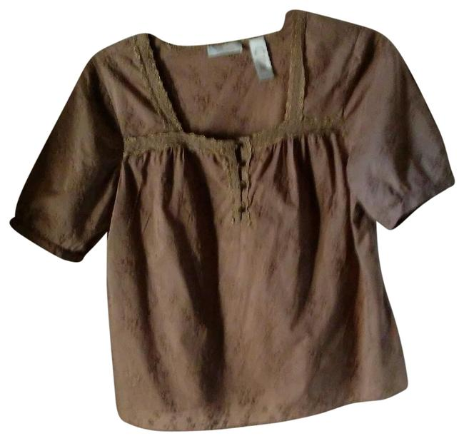 Item - Tan Collection. Casual Wear. Blouse Size Petite 14 (L)