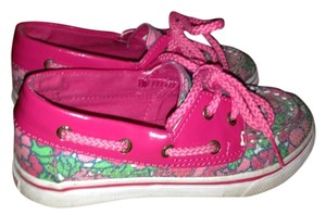 Kids Sperry Pink Flats