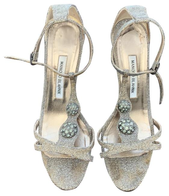 Item - Silver with Some Gold Formal Shoes Size EU 39 (Approx. US 9) Regular (M, B)