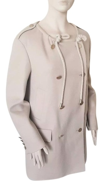 Item - Stone Nurra Double Breasted Wool Angora Coat Size 6 (S)