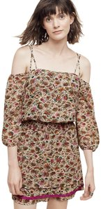 Floreat short dress Multi-Color Anthropologie Off The Shoulder Mini Strappy on Tradesy